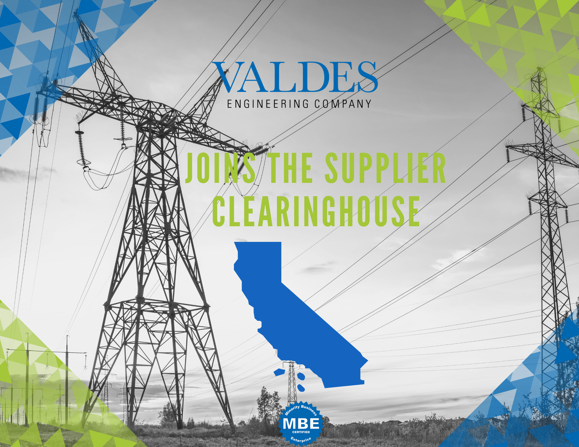 Valdes Certified By The Supplier Clearinghouse