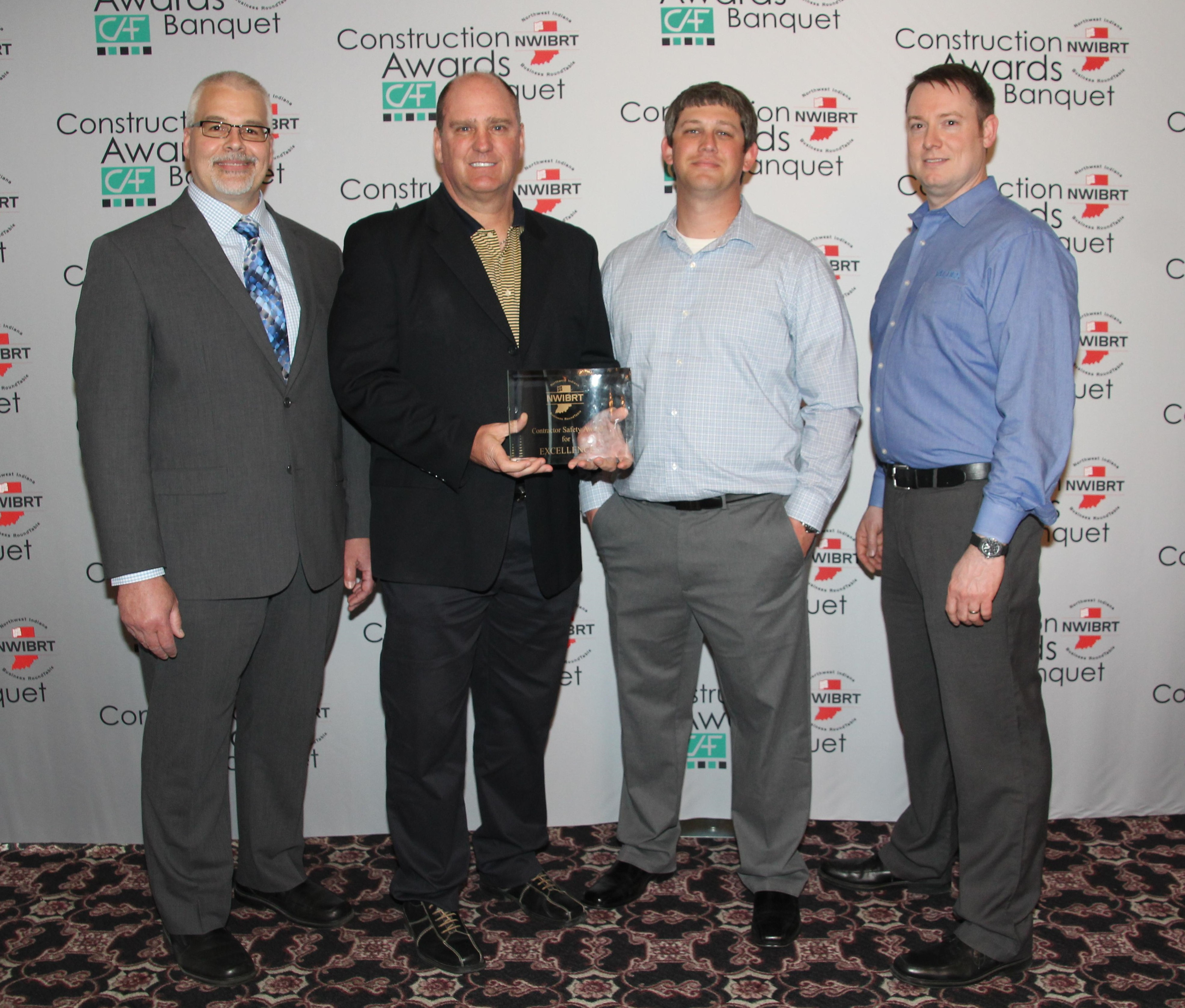 2017 Northwest Indiana Business Roundtable Award for Safety Excellence
