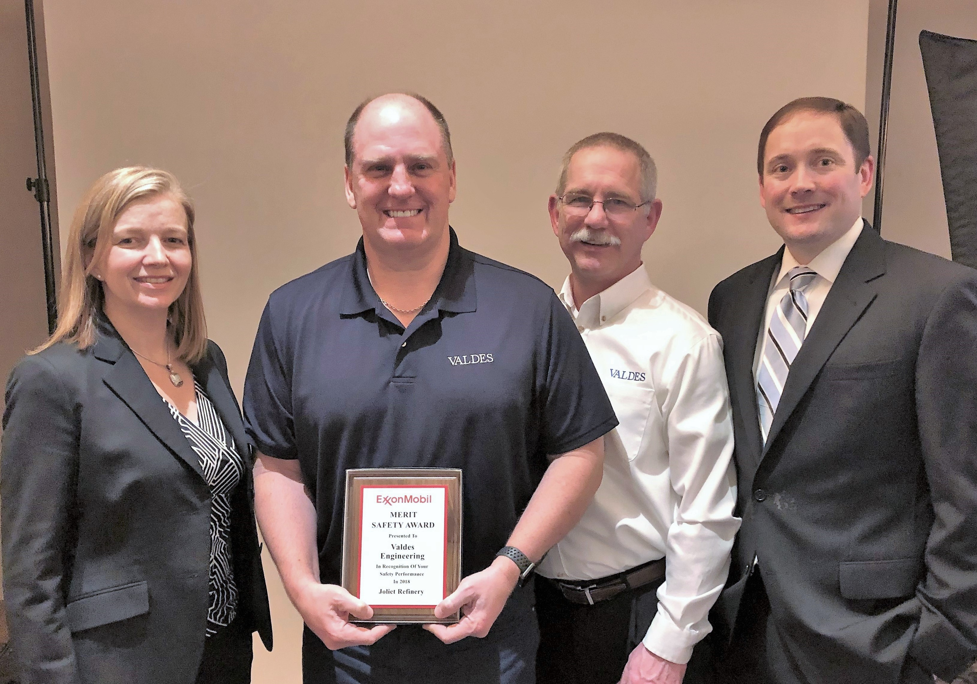 2018 ExxonMobil Merit Safety Award